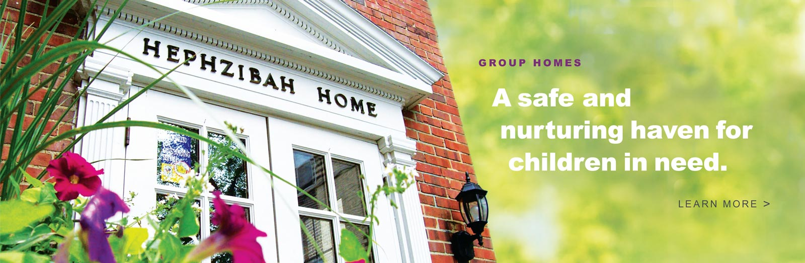 Group Homes - A safe and nurturing haven for children in need