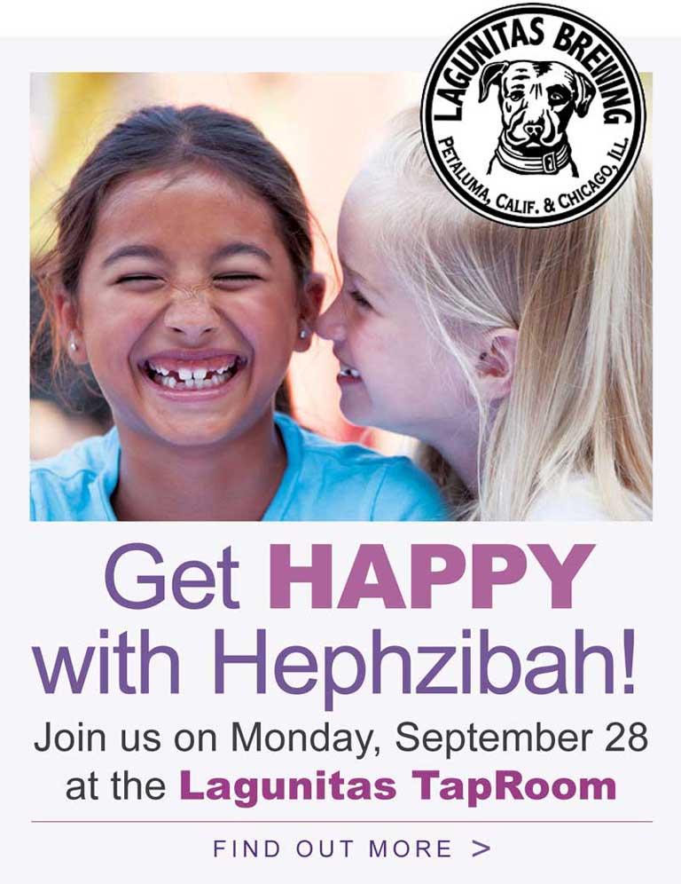 Get Happy with Hephzibah (Lagunitas Brewing event)