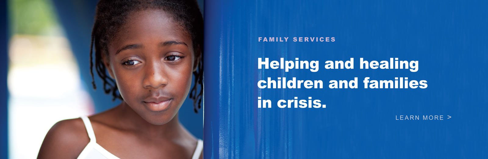 Family Services - Helping and healing children and families in crisis