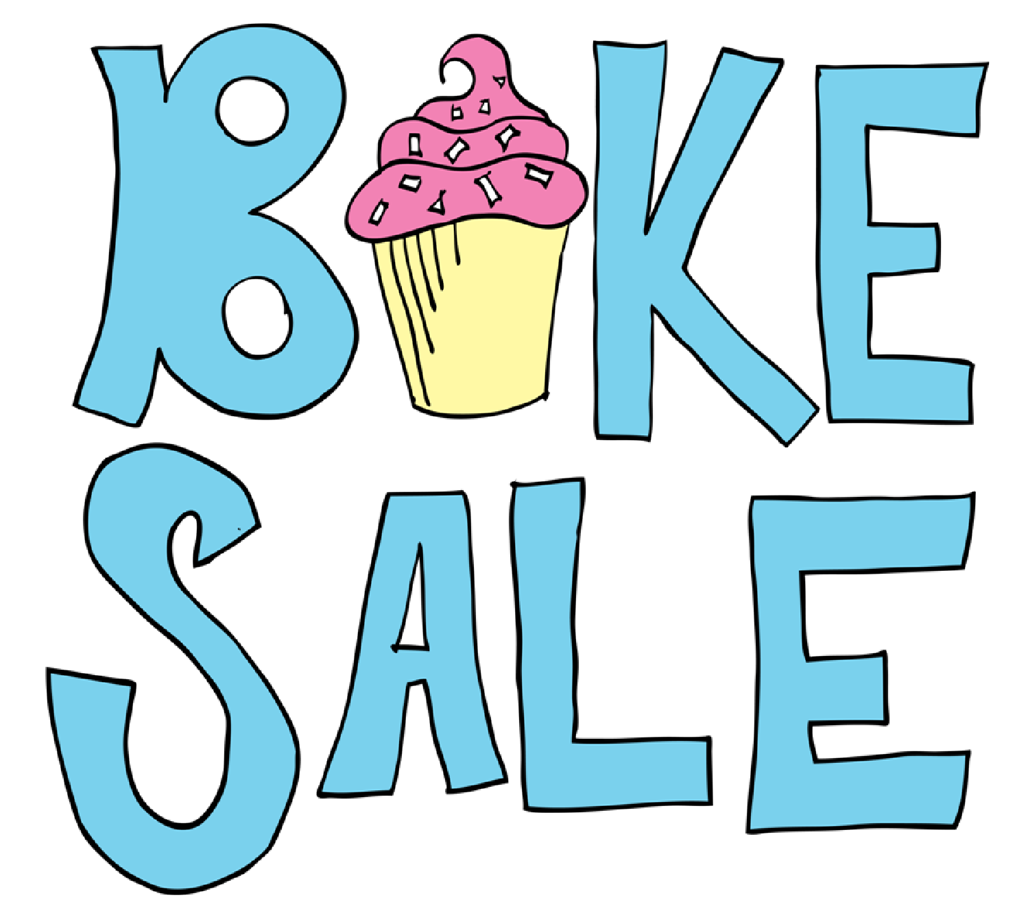 Image result for bake sale clipart