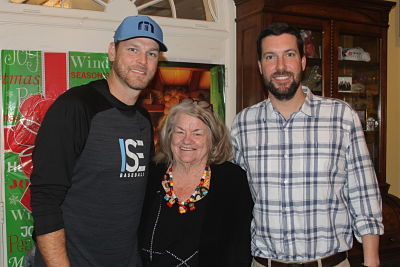 Kerry Wood, Mary Anne Brown, and Graham Allen.